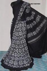 Hand Woven Ikkat Saree
