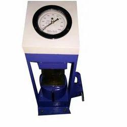 Compressor Testing Machine 100 Ton Plate Model Hand Operated