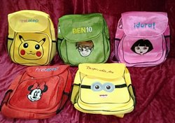 Cartoon Character School Backpack