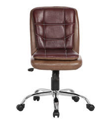 Almond And Cherry Librarian LB Workstation Chair