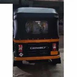Black Auto Rickshaw Hood