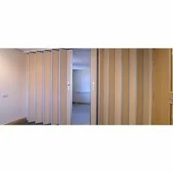 Wooden Sliding Folding Partitions