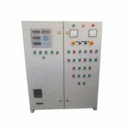 White Mild Steel Electric Boiler Controller Panel, Box