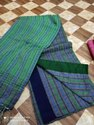 Pure Khadi Cotton Fish Motiffs Sarees