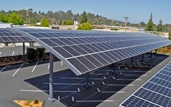 Commercial Solar Power Plants (Panel) with Car Parking Options