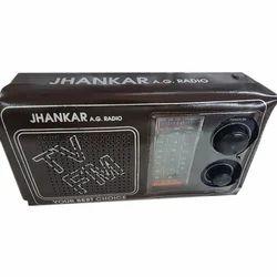 Black Portable Radio