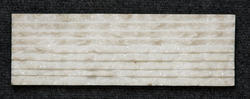 White Marble F Pattern Wall Cladding