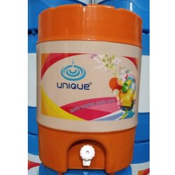 Unique Orange Plastic Water Camper, Cold Time: 24 Hours, Capacity: 18 L