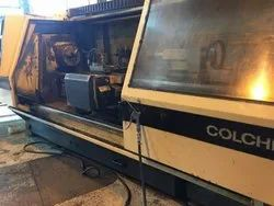 CNC Flat Bed Turning Center Colchester 380mm X 2000mm