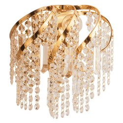9050B LED Jaquar CORONA Crystal Chandelier Wall Lamp, For Decoration