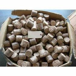Saw Dust 75 mm Biomass Briquette for Boiler