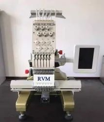 RVM T Shirt Single Head Embroidery Machine