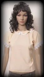 Peter Pan Collar Neck Top