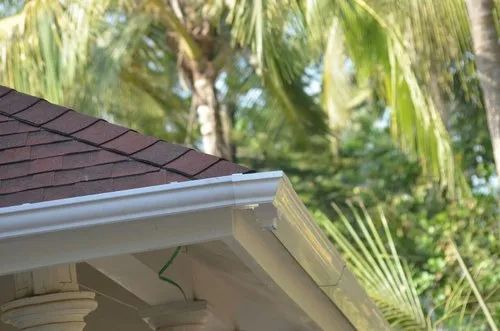 Castillo Color Coated Pvc Rain Gutter For Residential And Commercial Rs 150 Meter Id 21119826697