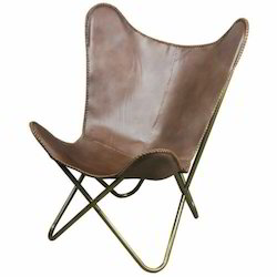 Kernig Krafts Leather Butterfly BKF Hardoy Chair