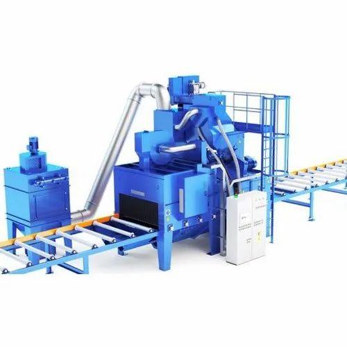 Shot Blast Machine, शॉट ब्लास्टिंग मशीन in Shivam Guruvihar, Chakan , Om  Shakti Metal | ID: 22098661448