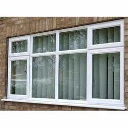 POKHRAJ White UPVC-Combination Windows, Thickness Of Glass: 5 Mm - 35 Mm