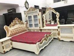 Brown Wooden Furniture Set, Warranty: 5 Year
