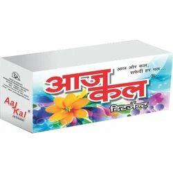 Aaj Kal白色6块洗衣粉饼,形状:长方形,包装类型:盒式