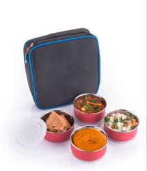 Stainless Steel 4 Pieces Lunch Box / Tiffin Box