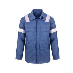 Blue Cotton Safety Shirt