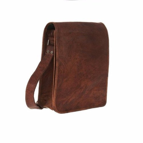4c83bb7a70a4 Brown Men  s Leather Side Bag