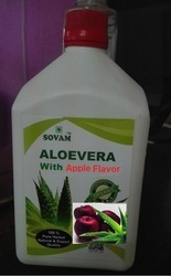 Organic Aloe Vera Juice With Apple Flavor