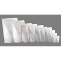 White Stand Up Pouch Bags With Zipper