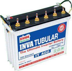 Exide Electronic Tubular Batteries, Voltage: 2, 6 and 12 V