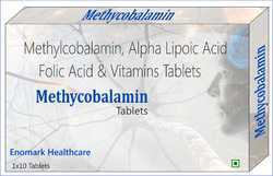 Methylcobalamin, Alpha Lipoic Acid, Folic Acid and Vitamins Tablets