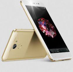 Gold Gionee A1 Lite Mobile Phone