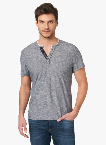 Cotton Causal Mens Henley T-Shirt, Rs 180 /piece Cheap Shop Ecommerce LLP |  ID: 17037882191