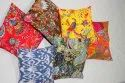 Multi Color Kantha Cushion Cover