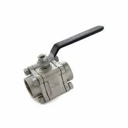 1081 Stainless Steel Three Piece Design Ball Valve