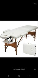 Portable Folding wooden Massage Table bed