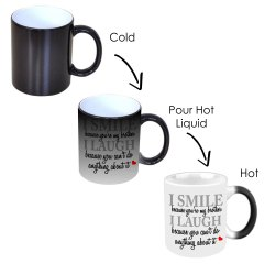 Printed Magic Mug for Promotion/ Branding/ Gifting Purpose