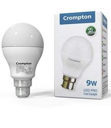 Cropmpton Aluminum Crompton led bulb 9w lxd