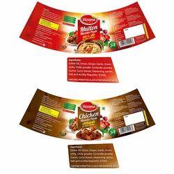 Edible Oil Label