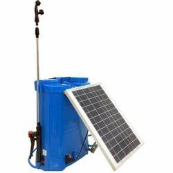 Solar Operated Knapsack Sprayer