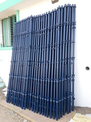 Hot Dipped Galvanized Blue Steel Scaffolding For Construction