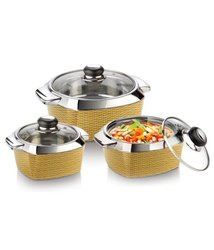 Casserole Set Wood Mate