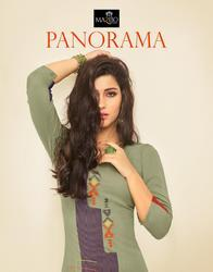 Maribo Panorama Series M-45-M-50 Stylish Party Wear Rayon Kurti