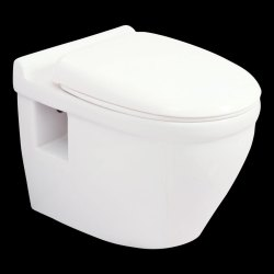 White Floor Mounted Bathroom Sanitary Ware, For Home