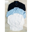 Cotton Plain Formal Kids Shirt