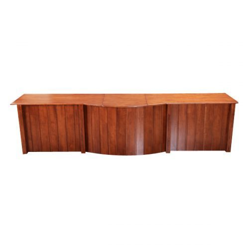 Rectangular Wooden Dais Table