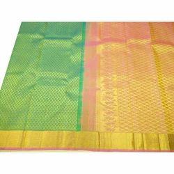 Festive Wear Kanchipuram Pattu Saree with Blouse Piece