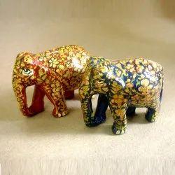 Toy Elephants, A, B, (L-R)