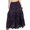 Cotton Jaipuri Ladies Designer Skirt