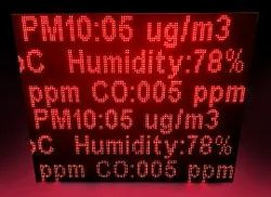 Air Quality Monitoring Display