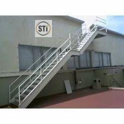 Straight Run MS Stairs